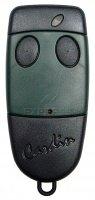 telecommande Cardin S449 QZ2 green de couleur verte et noire à deux boutons