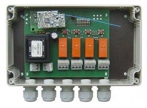 Ce récepteur fonctionne sur une fréquence de 868 MHz, il est compatible avec toutes les télécommandes Hörmann de cette fréquence