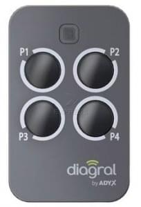telecommande de portail diagral diag43mcx. Black Bedroom Furniture Sets. Home Design Ideas