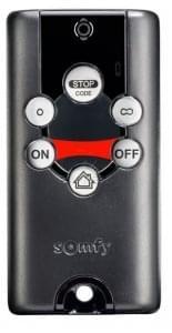 telecommande de portail somfy keytis 4 alarme home io. Black Bedroom Furniture Sets. Home Design Ideas