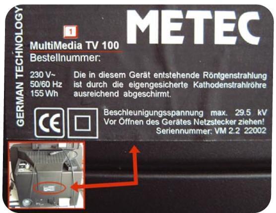 Fiche signalétique de votre appareil multimédia