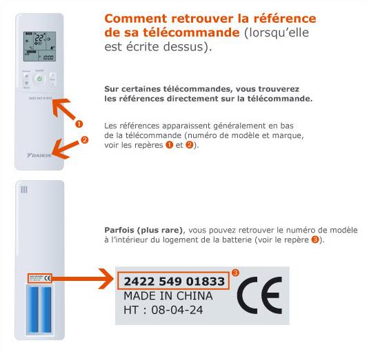 T l commande daikin pour climatiseur - Telecommande clim samsung ...